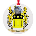 Busby Round Ornament