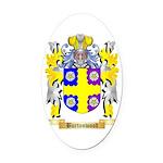 Burtonwood Oval Car Magnet