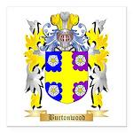 Burtonwood Square Car Magnet 3