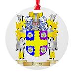 Burton Round Ornament