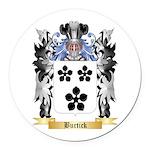 Burtick Round Car Magnet