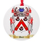 Burt Round Ornament