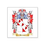 Burson Square Sticker 3