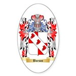 Burson Sticker (Oval)