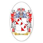 Burson Sticker (Oval 50 pk)