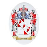 Burson Ornament (Oval)