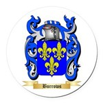 Burrows Round Car Magnet