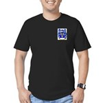 Burrowes Men's Fitted T-Shirt (dark)