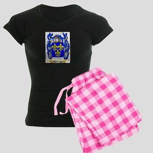 Burroughs Women's Dark Pajamas