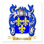 Burroughs Square Car Magnet 3
