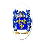 Burroughes Oval Car Magnet