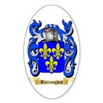 Burroughes Sticker (Oval 10 pk)