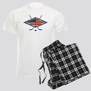 USA Hockey Flag Logo Pajamas
