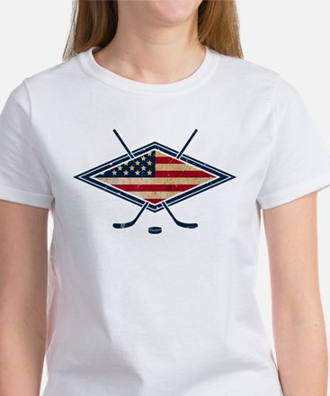 USA Hockey Flag Logo T-Shirt