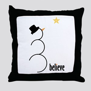 Believe Throw Pillow