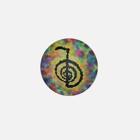 Cho Ku Rei Stained Glass Mini Button
