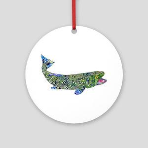 Wild Trout Ornament (Round)