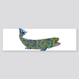 Wild Trout Bumper Sticker