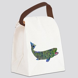 Wild Trout Canvas Lunch Bag