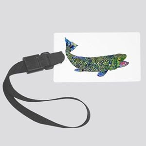 Wild Trout Luggage Tag