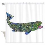 Fly fishing Shower Curtains