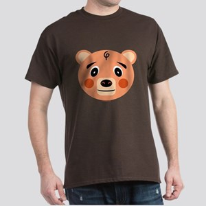 Orange Pig Monster Dark T-Shirt