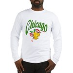 Chicago Christmas Long Sleeve T-Shirt