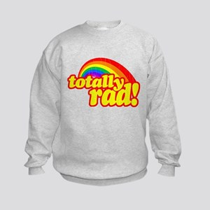 Retro Vintage 80s Totally Rad Sweatshirt