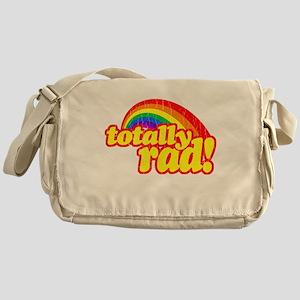 Retro Vintage 80s Totally Rad Messenger Bag