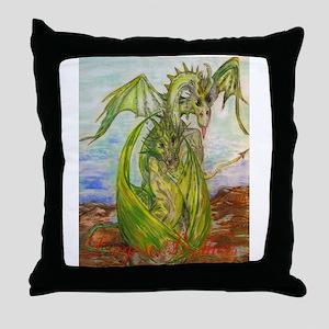 Fantasy Creature Throw Pillow