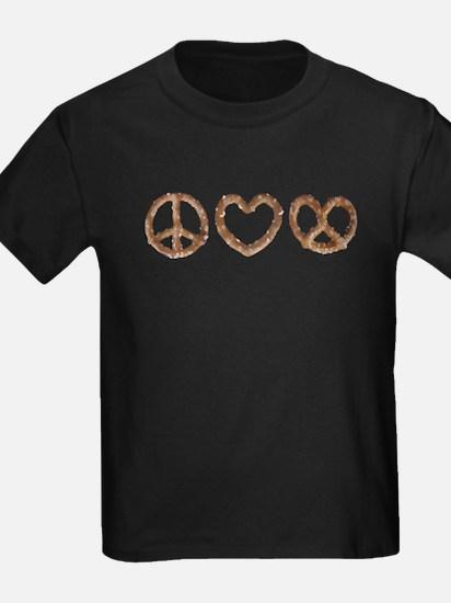 Peace Love Pretzel T-Shirt