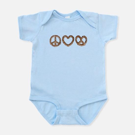 Peace Love Pretzel Body Suit