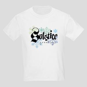 Solstice Greetings Kids T-Shirt