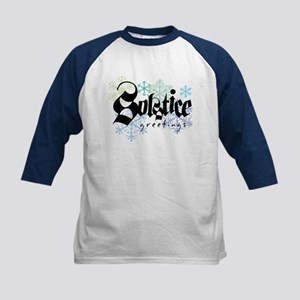 Solstice Greetings Kids Baseball Jersey