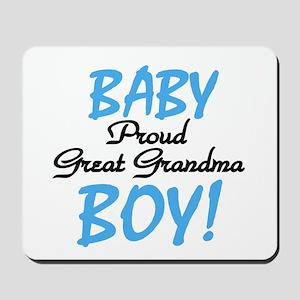 Baby Boy Great Grandma Mousepad