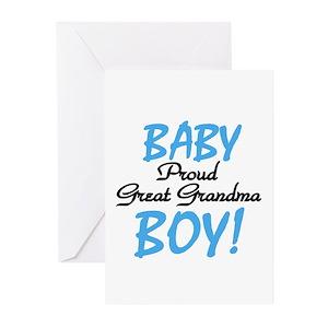Great grandma greeting cards cafepress m4hsunfo