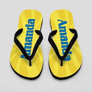 Amanda Sunburst Flip Flops