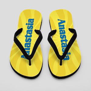 Anastasia Sunburst Flip Flops