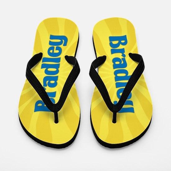 Bradley Sunburst Flip Flops