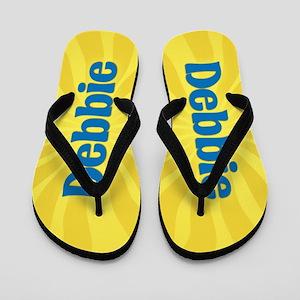 Debbie Sunburst Flip Flops