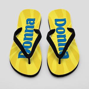 Donna Sunburst Flip Flops