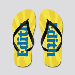 Edith Sunburst Flip Flops