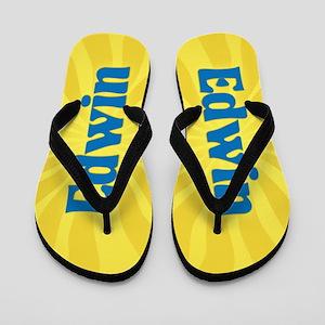 Edwin Sunburst Flip Flops
