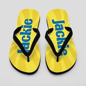 Jackie Sunburst Flip Flops