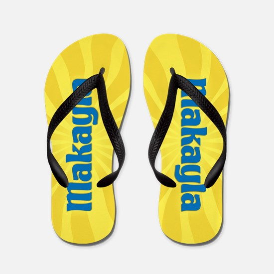 Makayla Sunburst Flip Flops