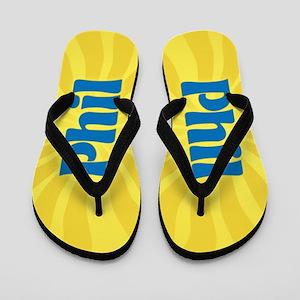 Phil Sunburst Flip Flops