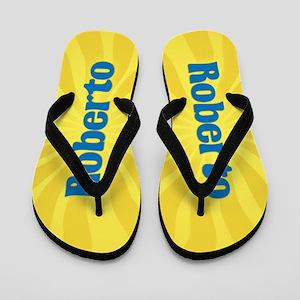 Roberto Sunburst Flip Flops