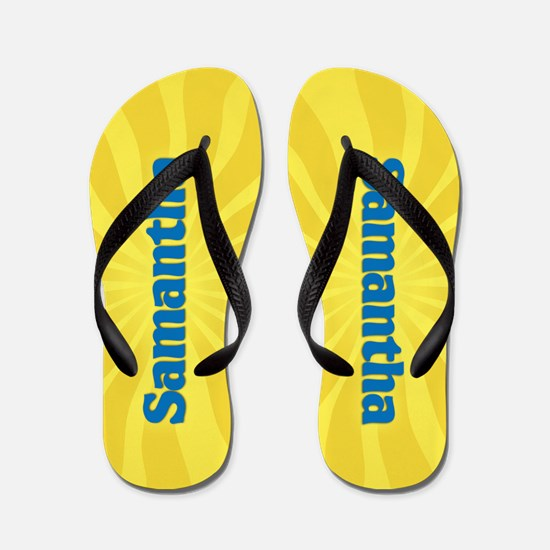 Samantha Sunburst Flip Flops
