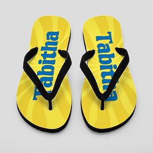 Tabitha Sunburst Flip Flops