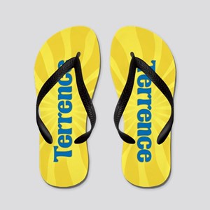 Terrence Sunburst Flip Flops